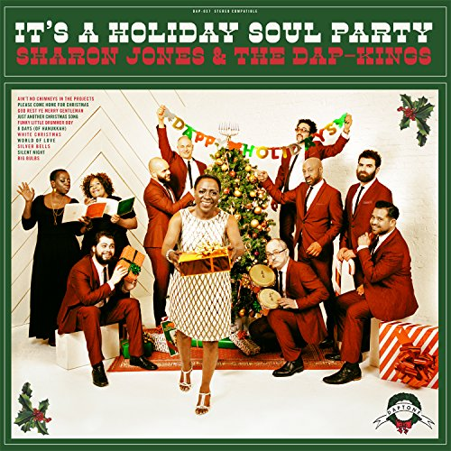 Sharon Jones & The Dap Kings - It's a Holiday Soul Party Album Art