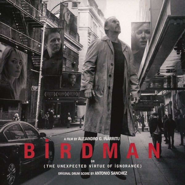 Birdman Soundtrack - Vinyl Album Art