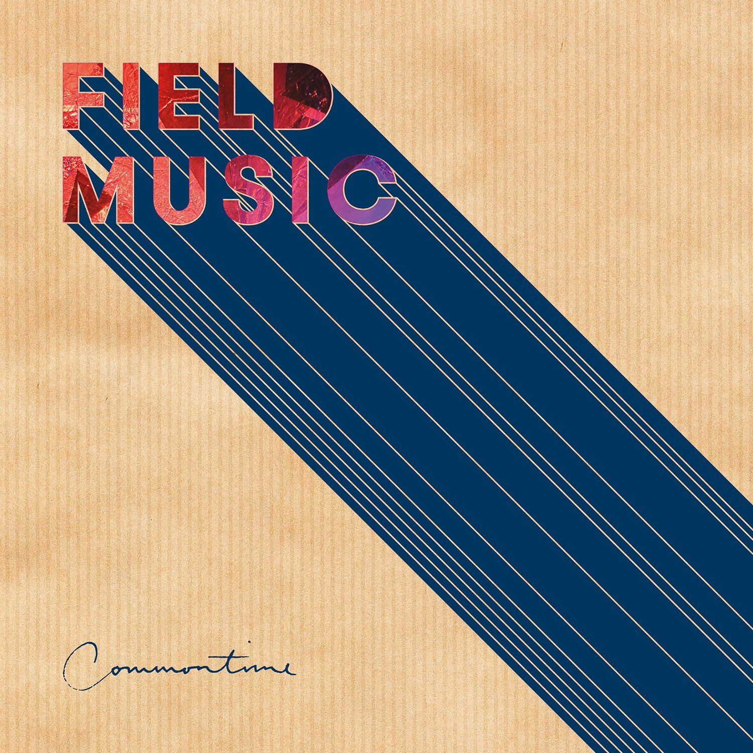 Field Music: Commontime Vinyl Album Art