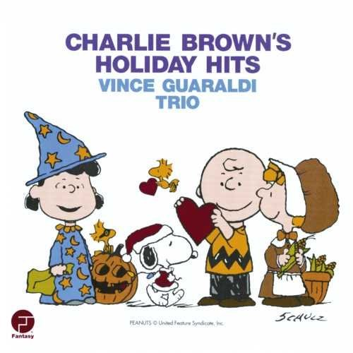 Charlie Brown's Holiday Hits Album Art