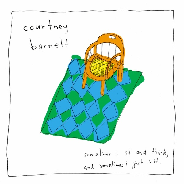 Courtney Barnett: Sometimes I Sit and Think, and Sometimes I Just Site Vinyl Album Art