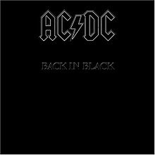 Album Art for Back in Black by AC/DC