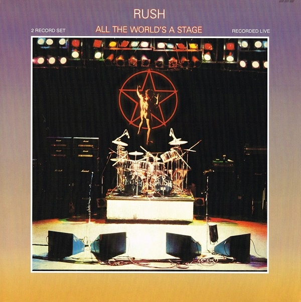 Album Art for All The World's A Stage by Rush
