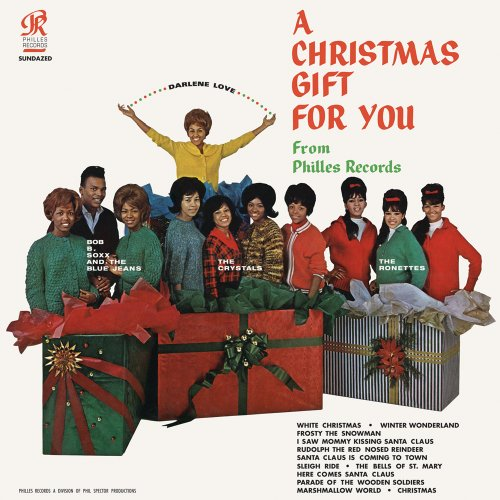 Phil Spector - A Christmas Gift For You Album Art