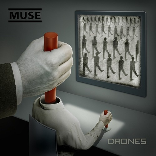 Drones - Muse Vinyl Album Art