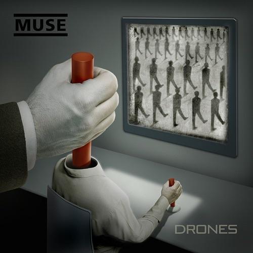 Drones - Muse Vinyl Album Art