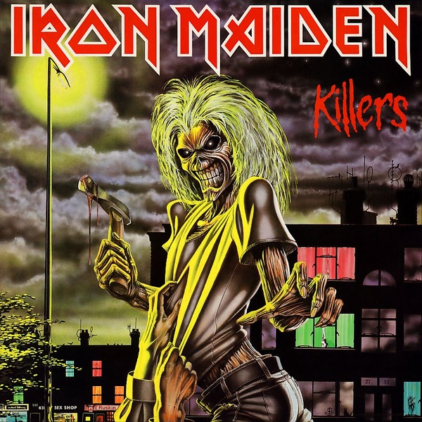 Album Art for Killers by Iron Maiden