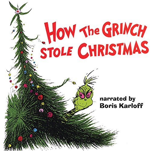 How the Grinch Stole Christmas Album Art